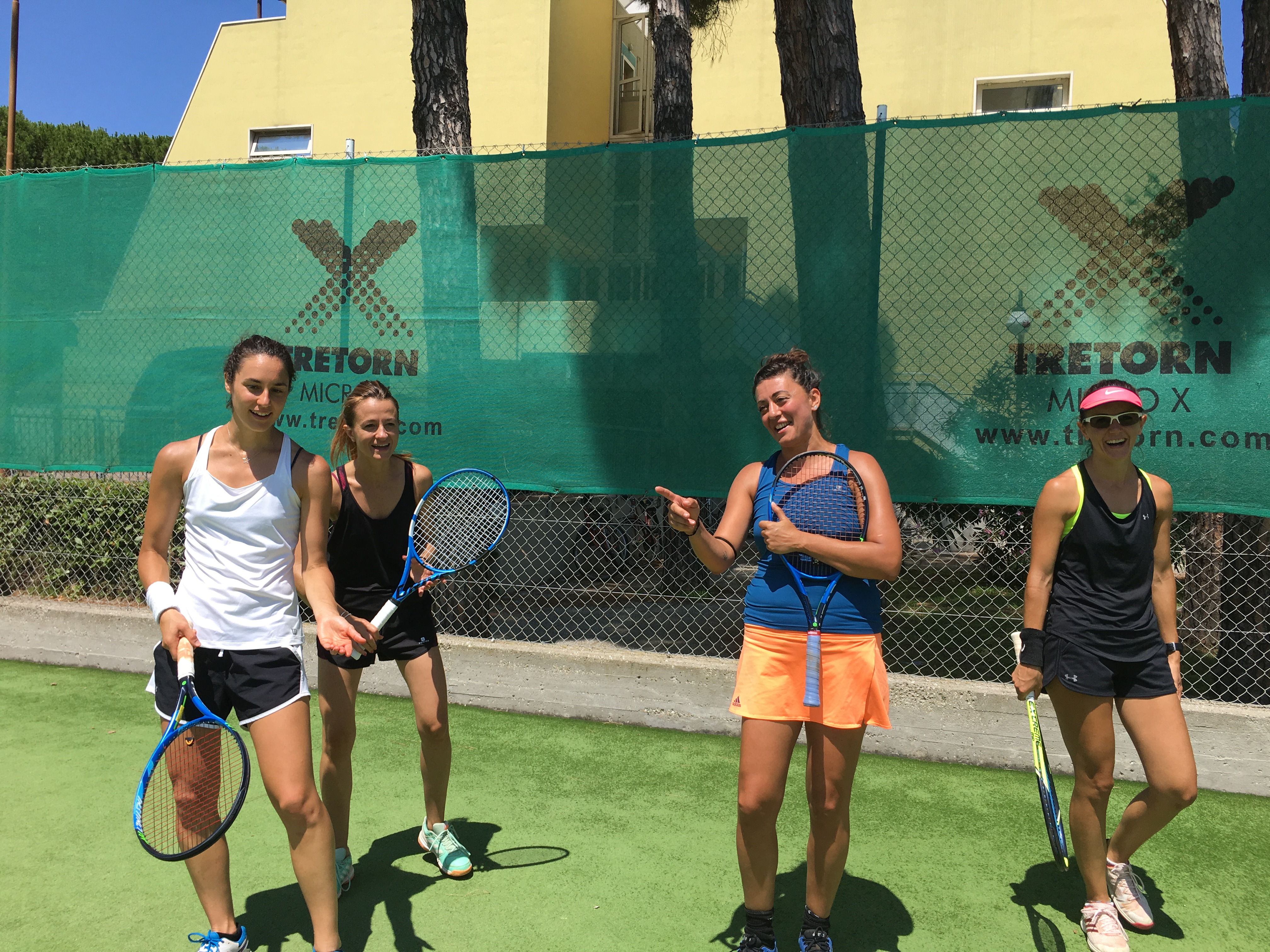 MARINA ROMEA STAGE WEEKEND DI TENNIS INTENSIVO 27/28